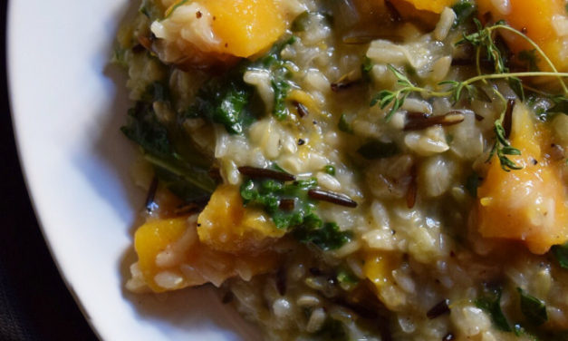 Warming Butternut & Kale Risotto