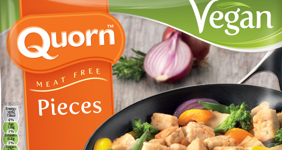 Global Sales of Quorn Boom Towards a Meat-Free Future