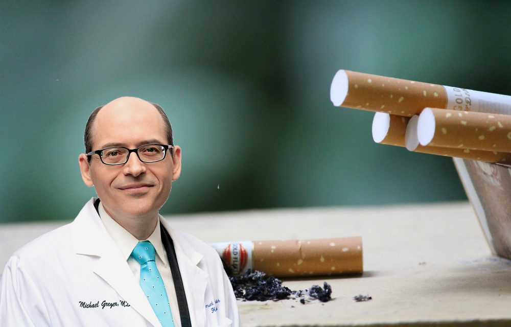 Dr Greger Claims Plant-Based Diets Equivalent To Quitting Smoking