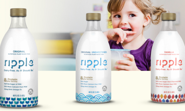 Ripple Launch New Milk And Announce Plans For Vegan Yogurt and Ice Cream
