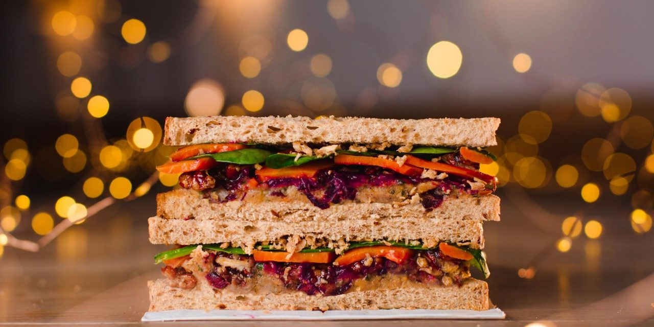 5 Vegan Christmas Sandwiches to Grab on Today's Lunch Break