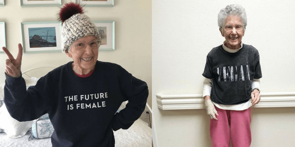 96-Year-Old Grandma Beats Cardiovascular Condition With Vegan Diet