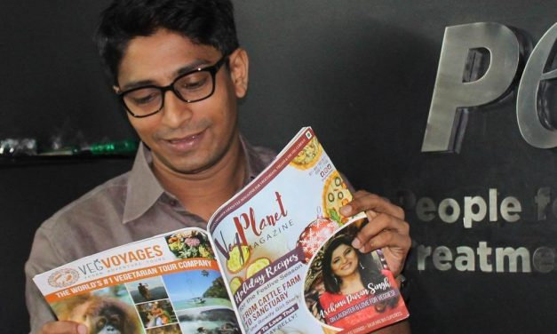 First Ever Vegan Magazine from India Arrives in Stores Across the Globe