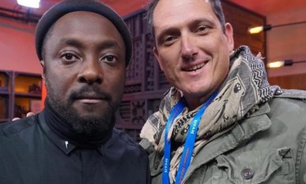Will.i.am Mingles with Vegan Activists at 'Game Changers' Movie Premiere