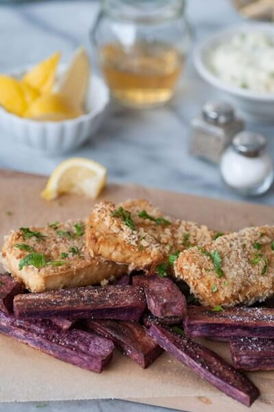vegan fish and chips recipes